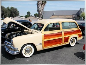 1951 Ford Woody Super Deluxe