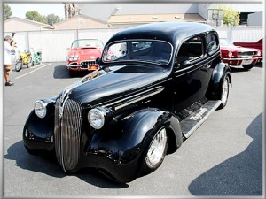1937 Plymouth 2-door Flat Back Sedan