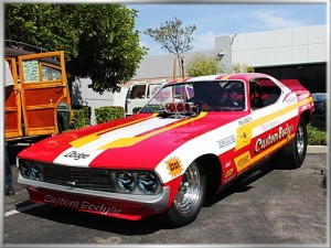 1973 Dodge Challenger Fuel Funny Car