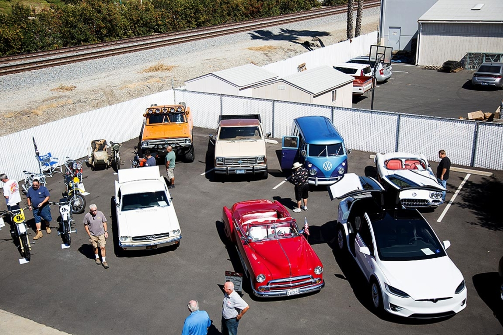 Clarion-Car-Show-Lot-2